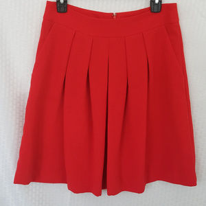 Banana Republic Pleated Front Skirt 20.5""